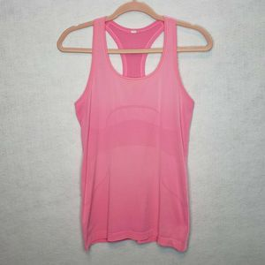 Lululemon Swiftly Tech Hot Pink Racerback Tank Top